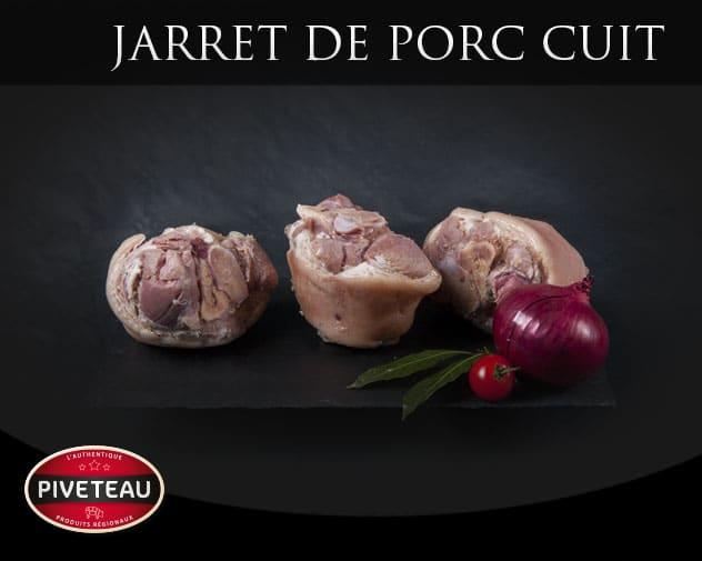 Jarrets de porc cuits