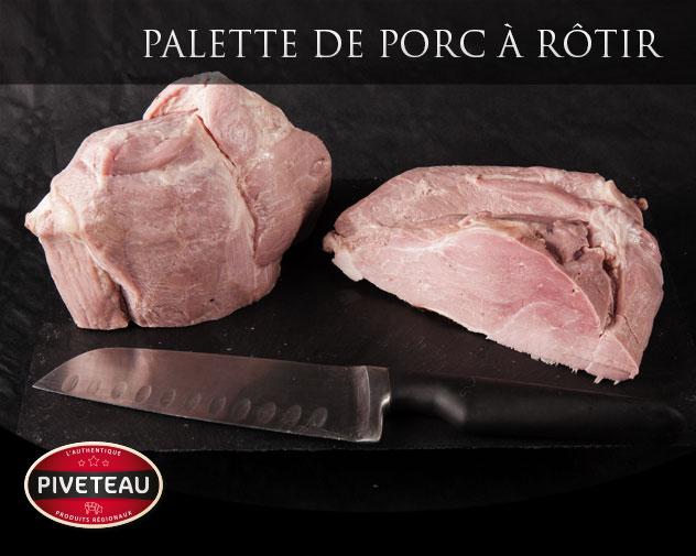 Palette de porc à rôtir