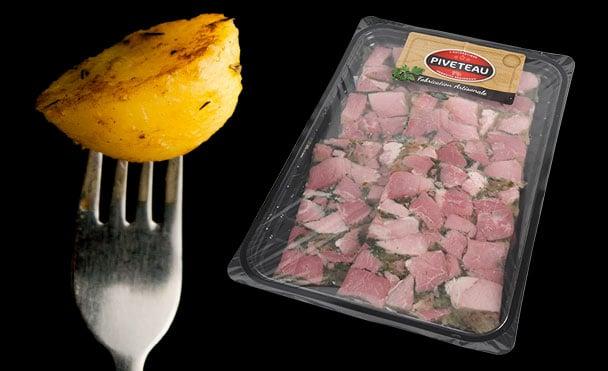 Persillé Montbertain pommes de terre