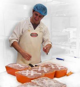 fabrication artisanale de pâtés - PIVETEAU